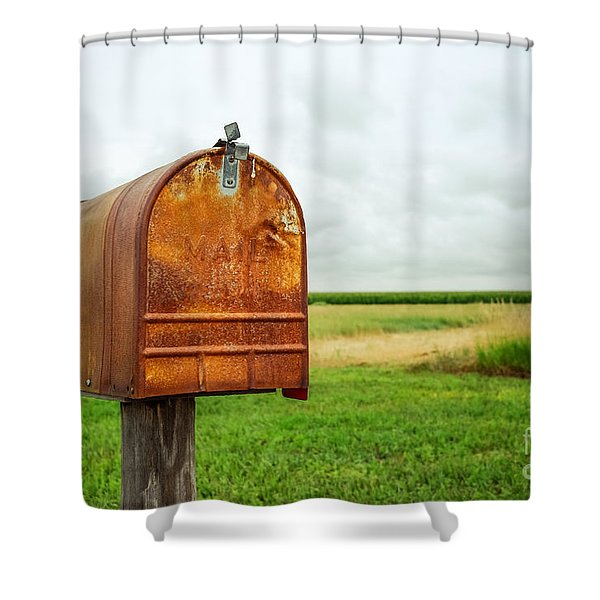 Mailbox  Shower Curtain