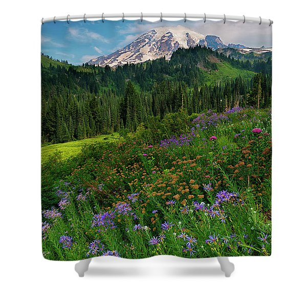Majestic Color Shower Curtain