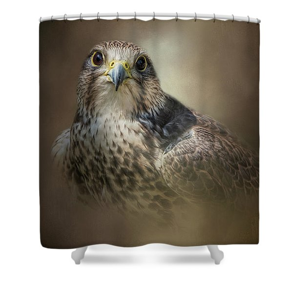 Majestic Hunter Shower Curtain