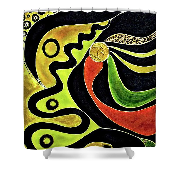 Making Waves.. Shower Curtain