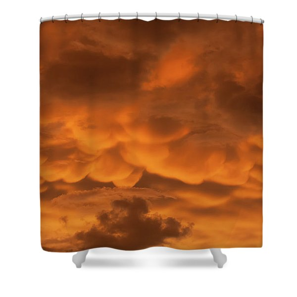 Mammatus Clouds Shower Curtain