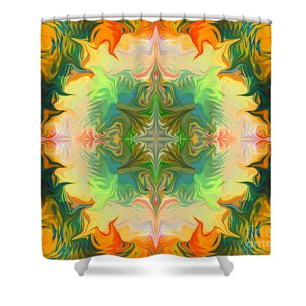 Mandala 12 8 2018 Shower Curtain
