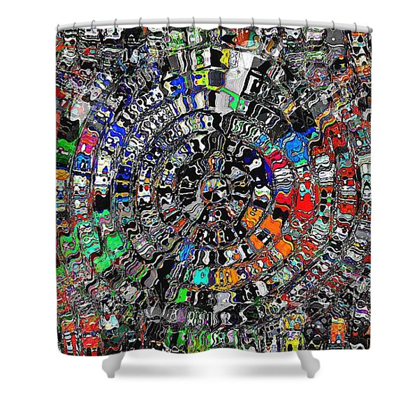 Mandala Grafundi Shower Curtain