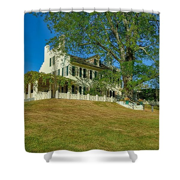 Manor House At Aspect Shower Curtain
