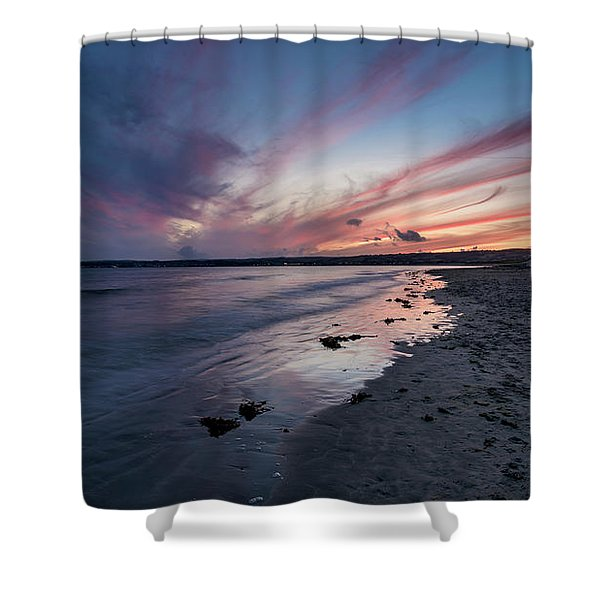 Marazion Sunset - Cornwall Shower Curtain