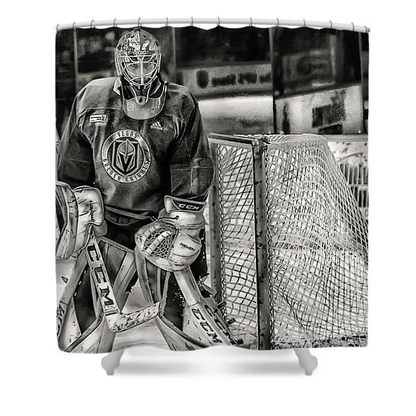 Marc Andre Fleury Vegas Golden Knights Shower Curtain