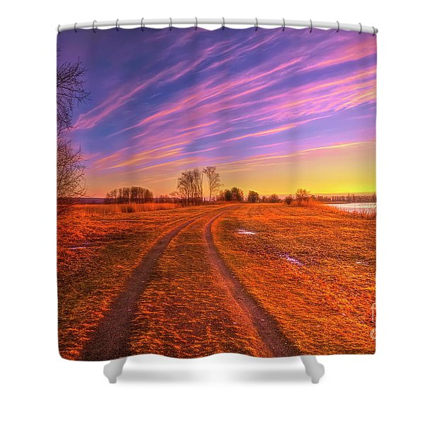 March Morning 2 Shower Curtain