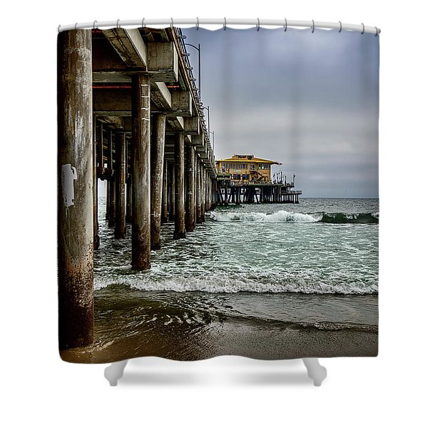 Mariasol On The Pier 2 Shower Curtain