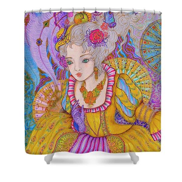 Marie Antinette Shower Curtain