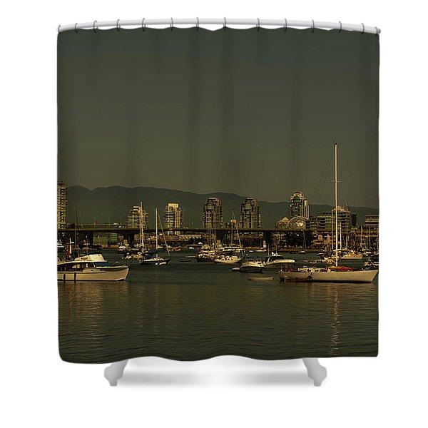 Marina Golden Hours Shower Curtain