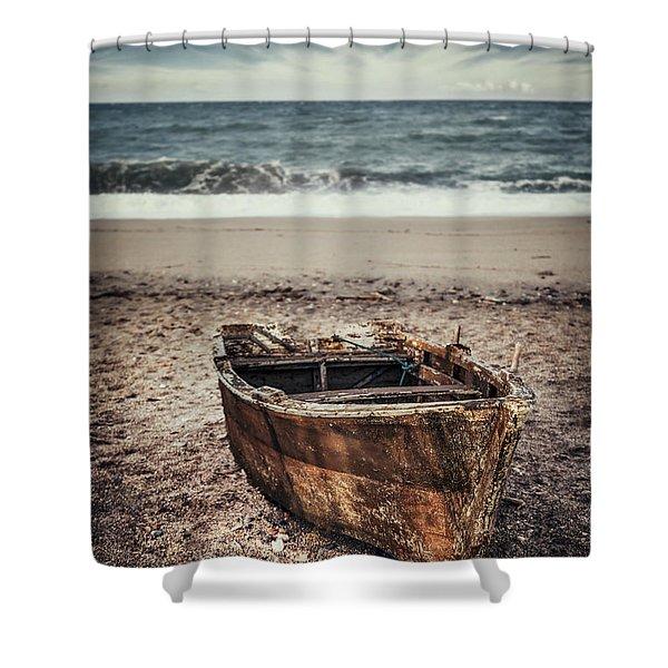 Maritime Soul Shower Curtain