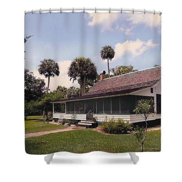Marjorie Kinnan Rawlings Home  Shower Curtain