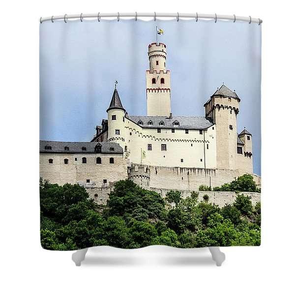 Marksburg Castle Shower Curtain
