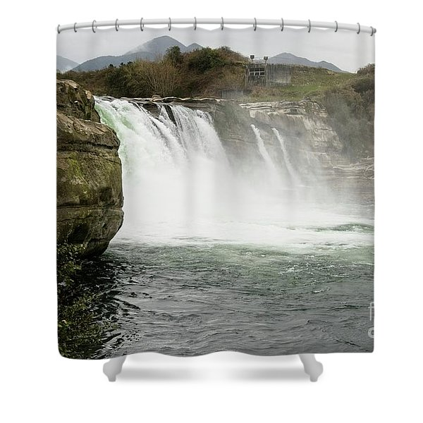 Maruia Falls Shower Curtain