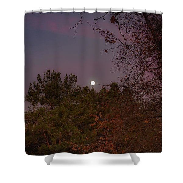 Marvelous Moonrise Shower Curtain