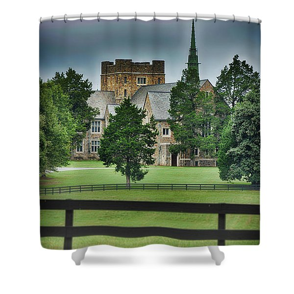 Mary Hall, Berry College Shower Curtain