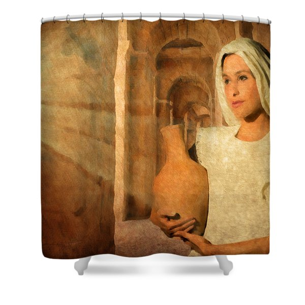 Mary Shower Curtain