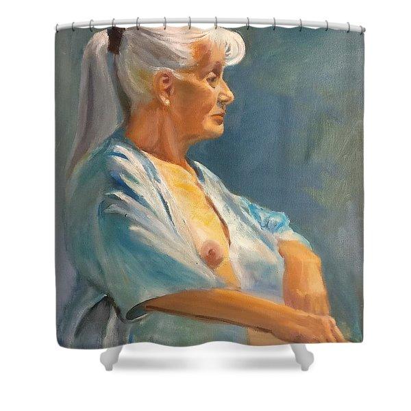 Mary Shower Curtain