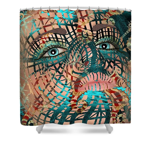 Mask Dreaming Of The Sea Shower Curtain