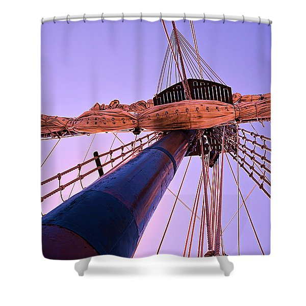 Mast And Sails Shower Curtain