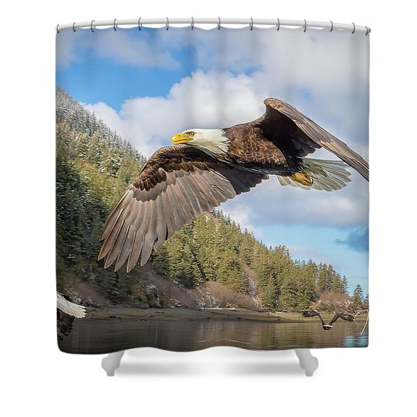 Master Of The Skies Shower Curtain