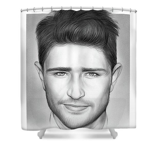 Matt Dallas Shower Curtain