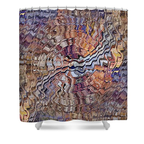Matter Mixer Shower Curtain
