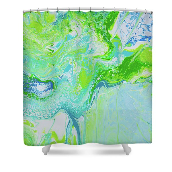 Maui - Land And Sea Shower Curtain