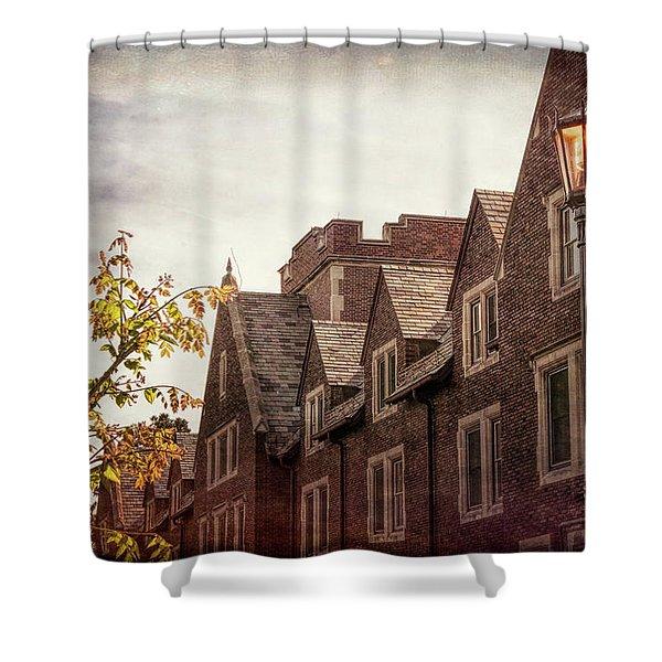Mayslake Historic Home Shower Curtain