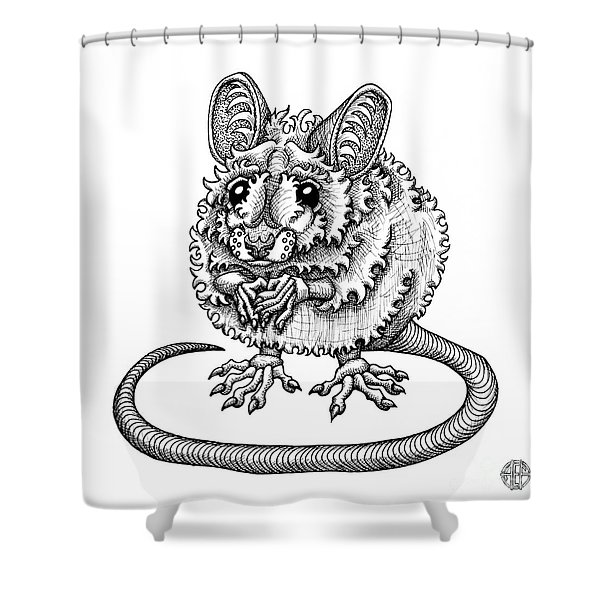 Meadow Jumping Mouse Shower Curtain