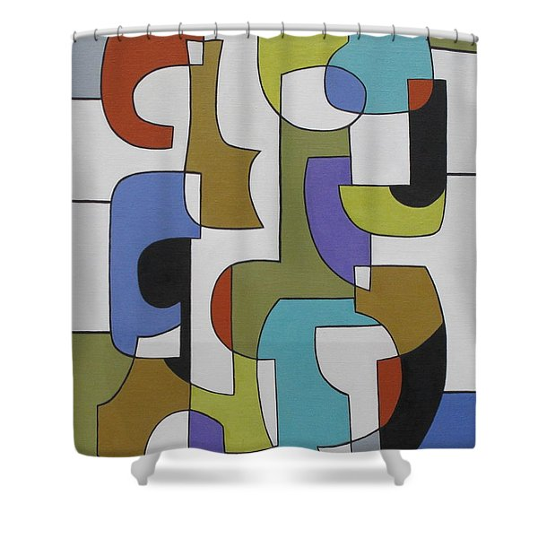 Meanwhile Shower Curtain