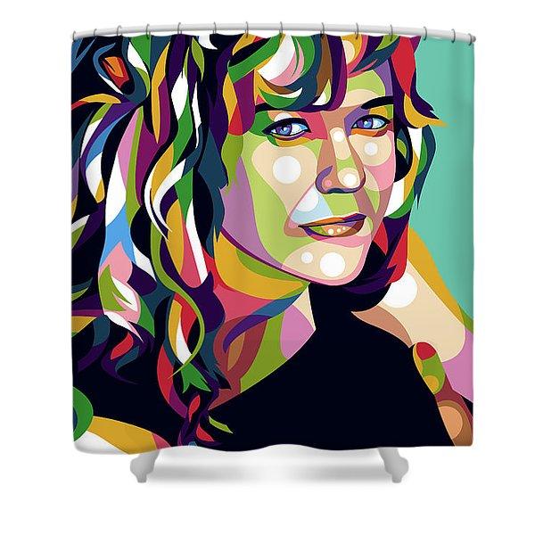 Meg Ryan Shower Curtain