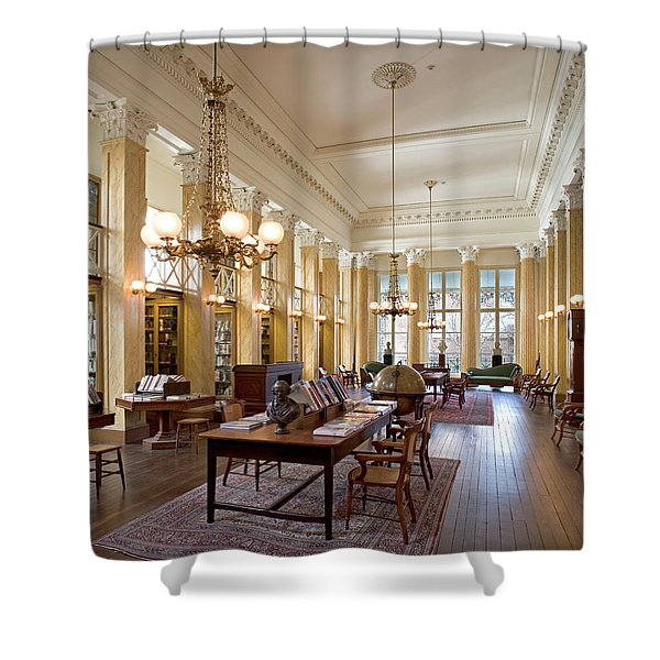 Members' Reading Room Shower Curtain