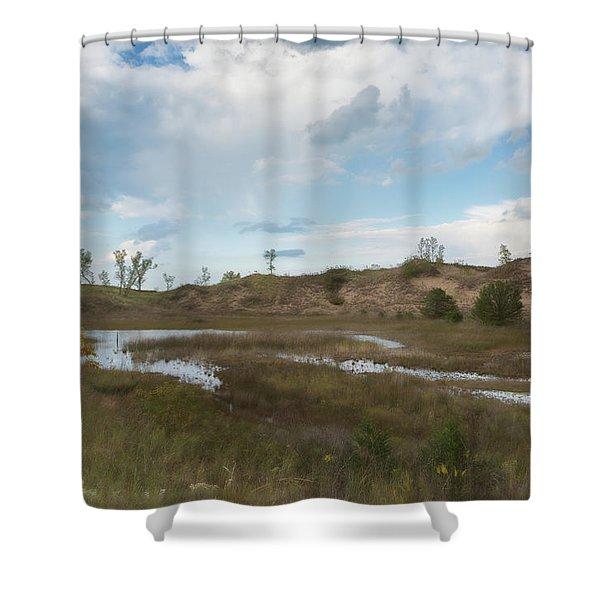 Memories Of Indiana Dunes Shower Curtain