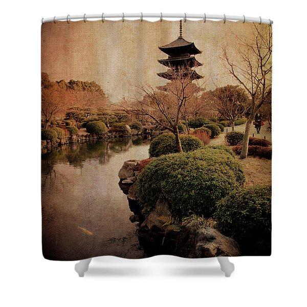 Memories Of Japan 2 Shower Curtain