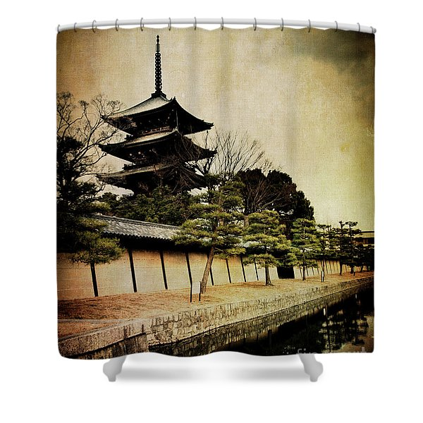 Memories Of Japan 4 Shower Curtain