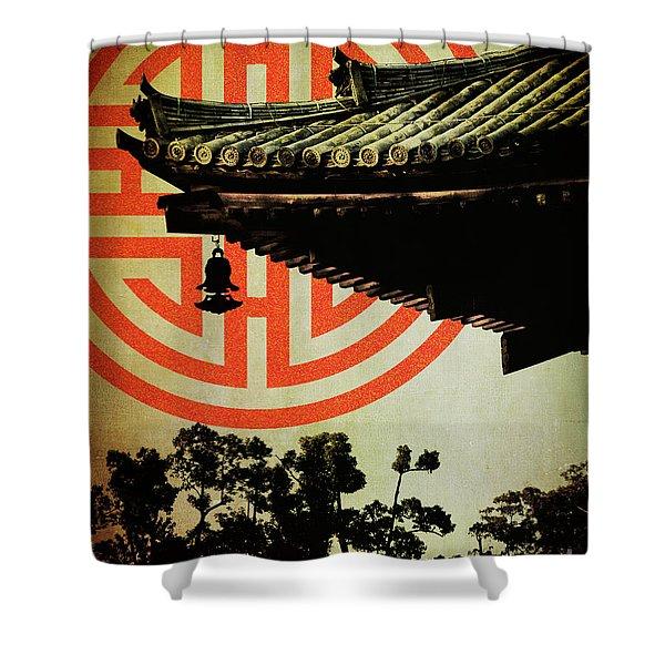 Memories Of Japan 5 Shower Curtain