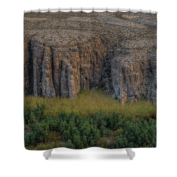 Mexican Box Canyon Shower Curtain