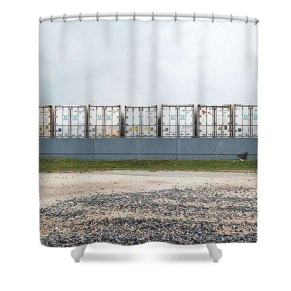 Miami Topographics 15 Shower Curtain