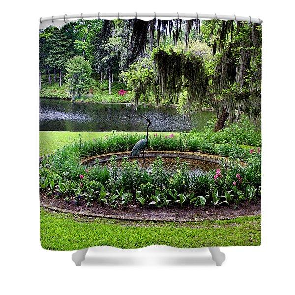 Middleton Gardens Mill Pond Shower Curtain
