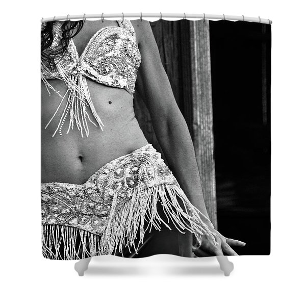 Mideastern Dancing 3 Shower Curtain