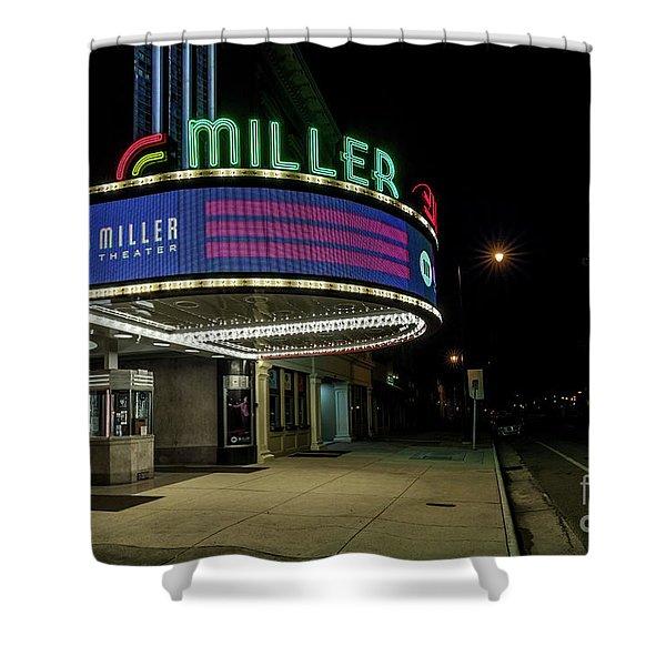 Miller Theater Augusta Ga 2 Shower Curtain