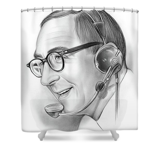 Milton Metz  Shower Curtain