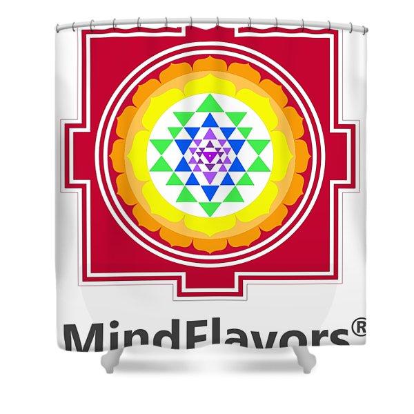 Mindflavors Original Medium Shower Curtain