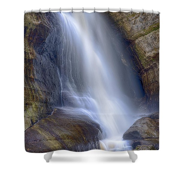 Miners Falls Shower Curtain