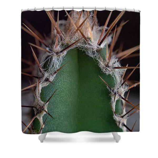 Mini Cactus Up Close Shower Curtain