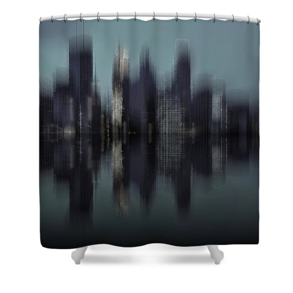 Minneapolis 1 Shower Curtain