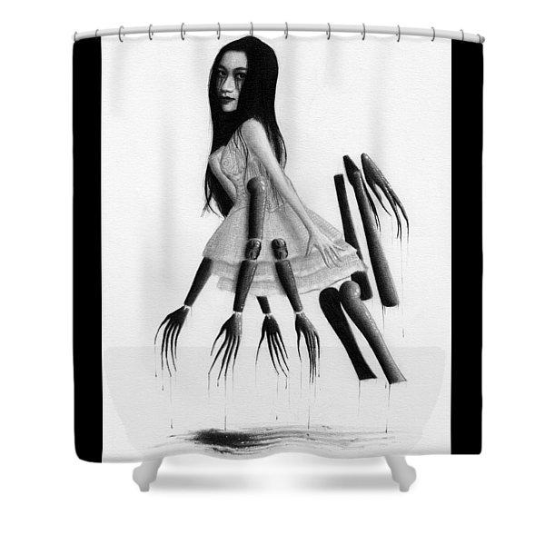 Misaki - Artwork Shower Curtain