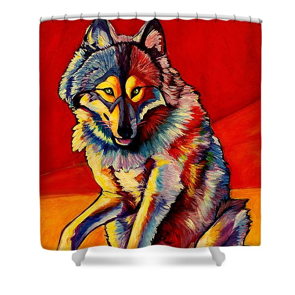 Mischief Motivation Shower Curtain