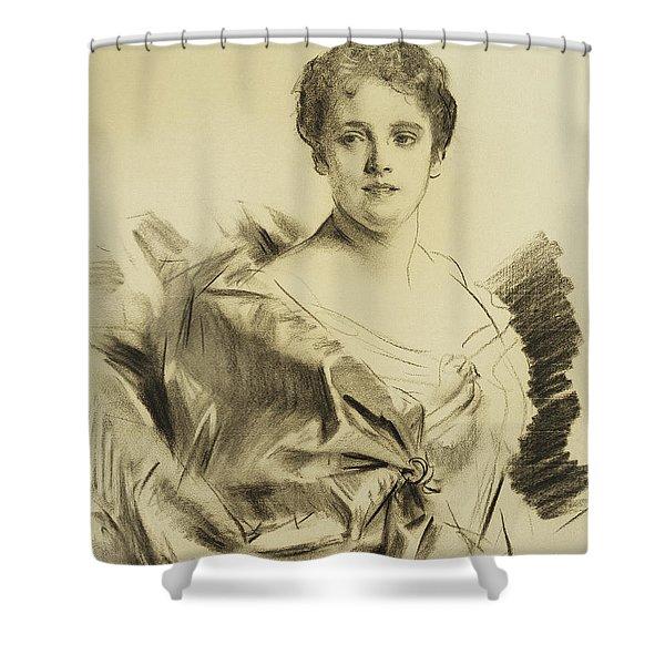 Miss Susan Strong Shower Curtain
